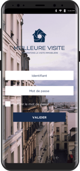 Application Meilleure visite