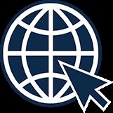 Pictogramme d'accessibilité de visite virtuelle