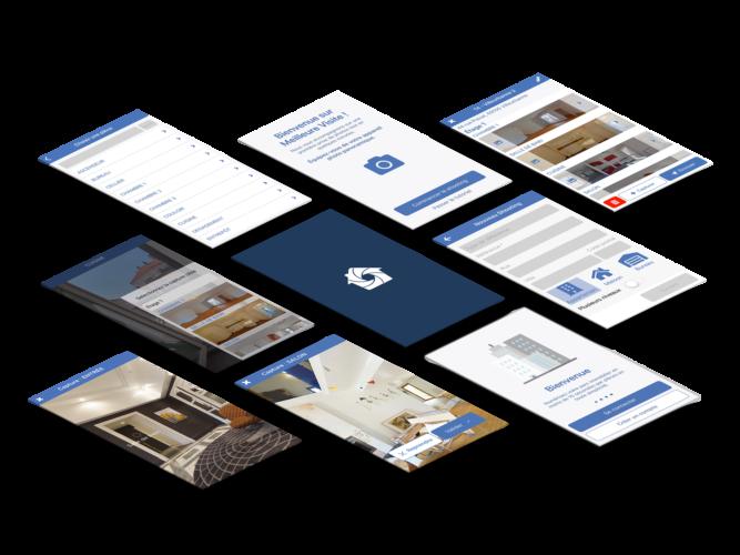 Création - Application de Visite Virtuelle