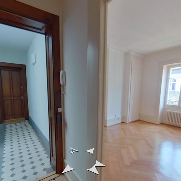 Exemple de visite virtuelle T2 Genève - Meilleure Visite