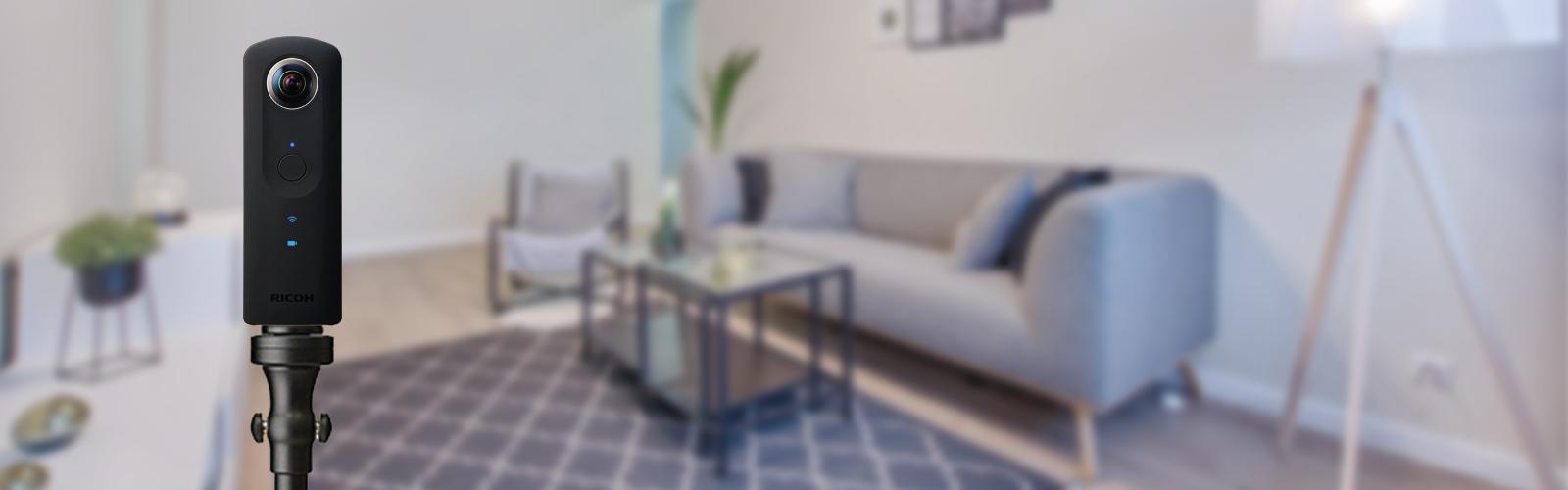 Caméras 360° pour sublimer vos biens immobiliers - Meilleure Visite